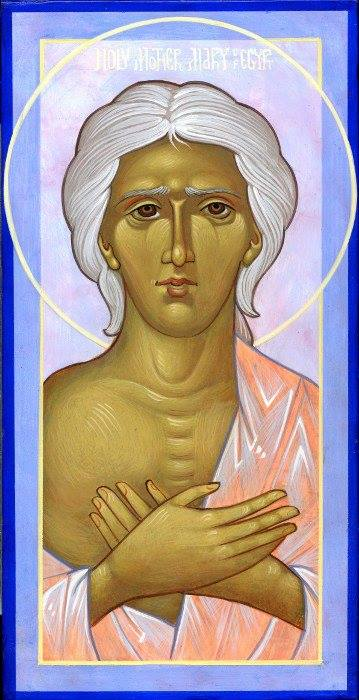 The Memory of Saint Mary of Egypt