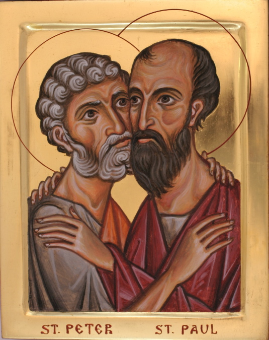 June 29: Saints Peter and Paul, Foremost of the Holy Apostles