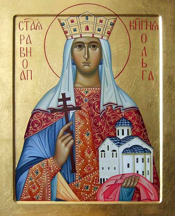 Saint Olga: from Βarbarism to Ηoliness – 11th of July