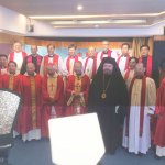 Metropolitan Nektarios at the Ordinations of Three New Auxiliary Roman Catholic Bishops