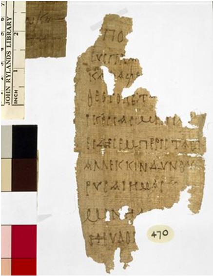 The Earliest Known Prayer to the Theotokos