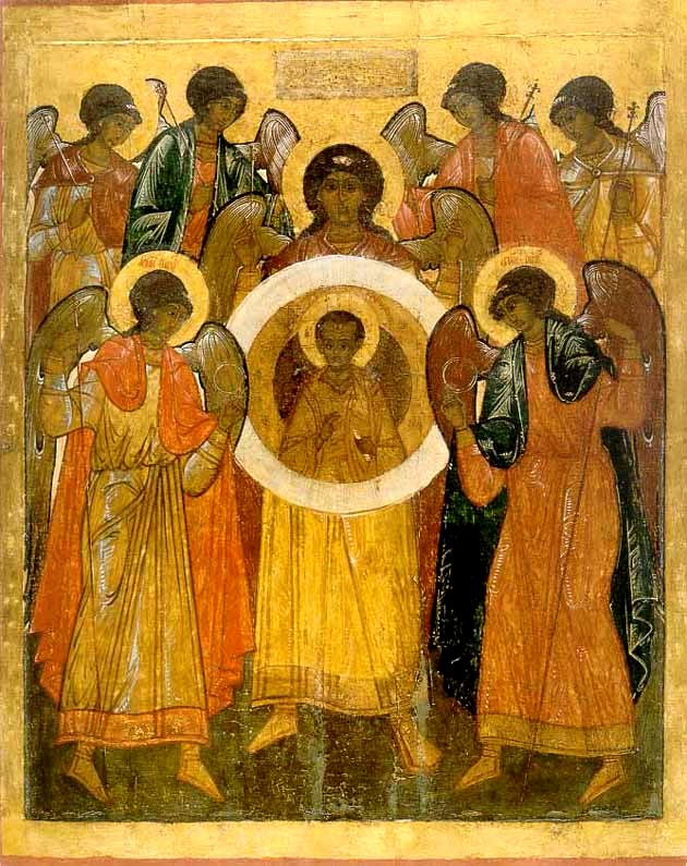 The Synaxis of the Archangels Michael and Gabriel and the Other Bodiless Powers