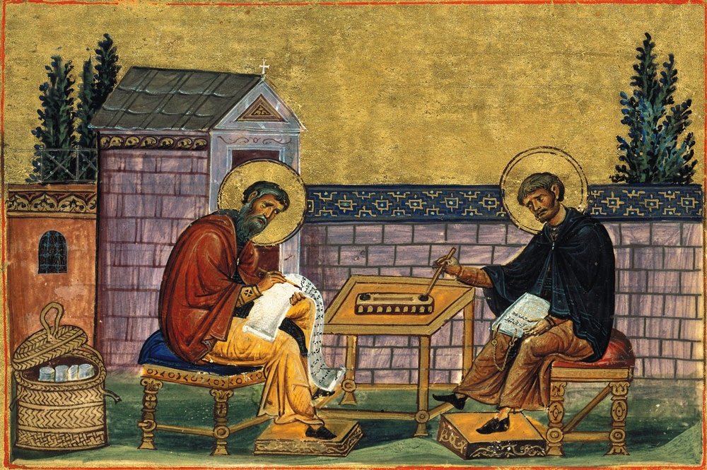 Saint John of Damascus and Saint Cosmas of Maiuma