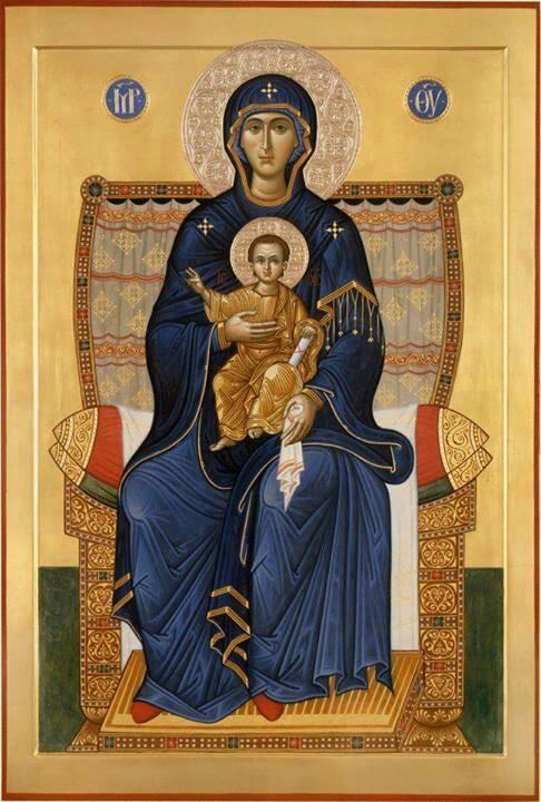 The Theotokos as the Throne of God