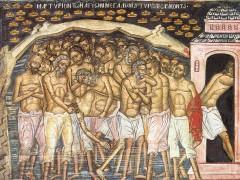 The Forty Martys of Sevaste (Sebastia)