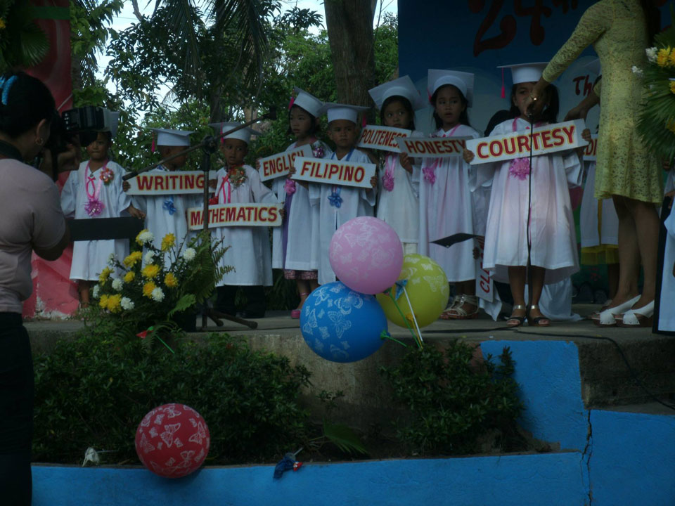 Graduation Day in Masbate, Philippines