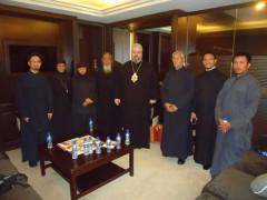 Metropolitan Nektarios of Hong Kong visits Philippines