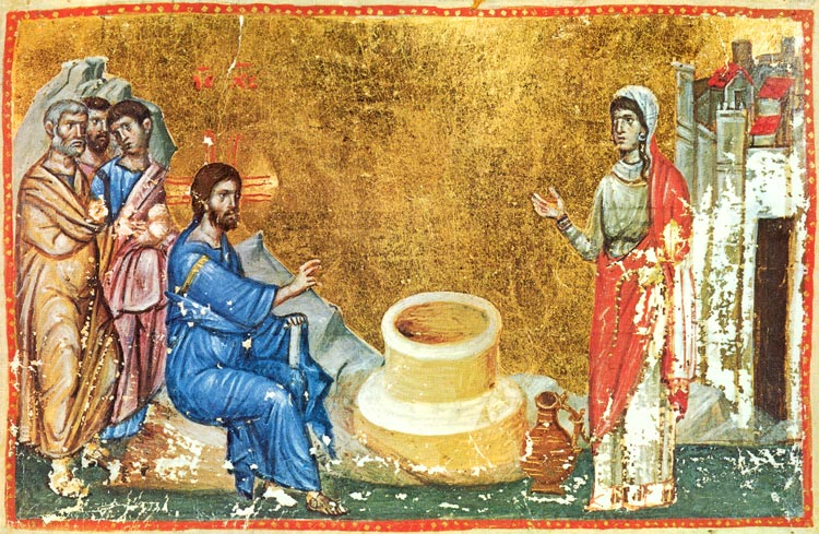 Excerpts from the Homily on the Samaritan Woman by Saint John Chrysostom