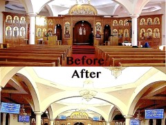 Projector Screens in an Orthodox Church?
