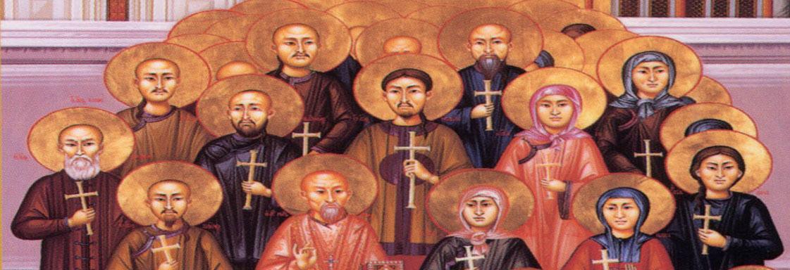 """China, too, possesses Christ-bearing Martyrs…"""