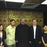 Hong Kong Christian Council representatives meet with Metropolitan Nektarios