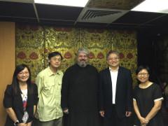 Hong Kong Christian Council representatives meet with Metropolitan Nektarios