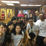 A group from the Methodist Church visit Saint Luke Orthodox Cathedral