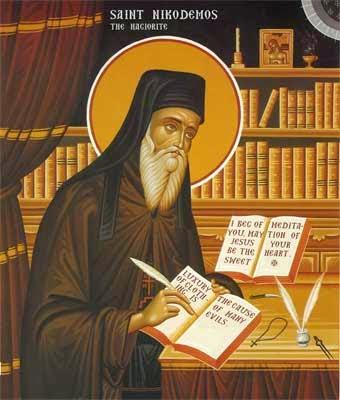 Saint Nikodemos of Mount Athos