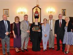 Ecumenical Patriarch receives prestigious environmental award