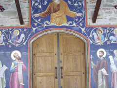 The depiction of Ancient Greek Philosophers in Orthodox Churches