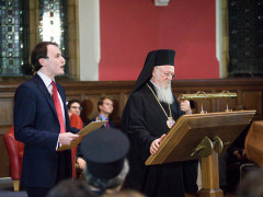 The Ecumenical Patriarch addresses the Oxford Union