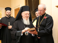 Visit of the Ecumenical Patriarch to the Archbishop of Canterbury