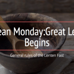 Clean Monday: Great Lent Begins
