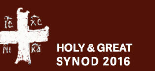 Holy and Great Synod 2016