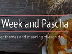 The major themes of each day of Holy Week