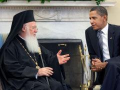 Barack Obama congratulates Ecumenical Patriarch