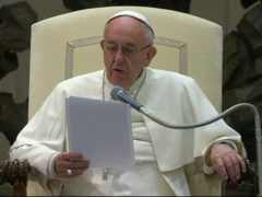 Pope Francis: Message to Ecumenical Patriarch for feast of Apostle Andrew