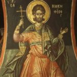 The Holy Martyr Nikiforos and the Priest Saprikios