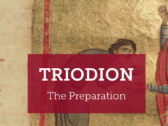 Triodion begins. Learn more