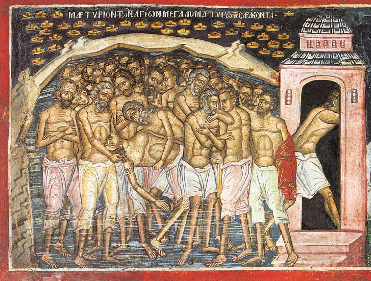 The Holy Forty Martyrs of Sebaste