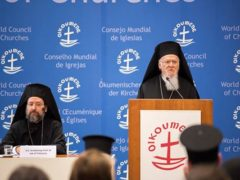 Address of Ecumenical Patriarch at World Council of Churches, April 2017