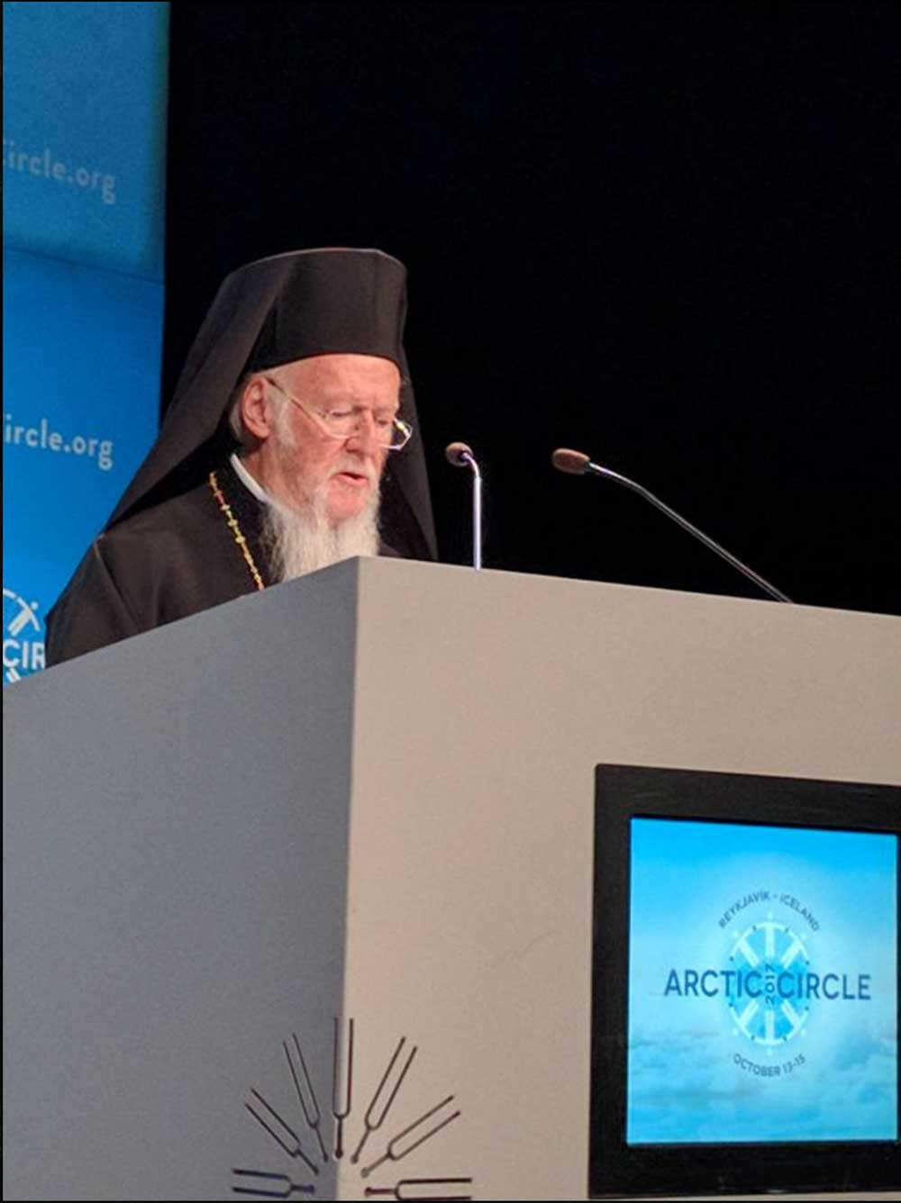 Ecumenical Patriarch at the Arctic Circle Assembly (October 13, 2017)