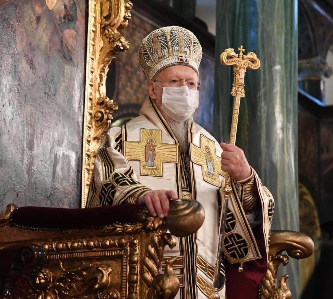 """Ecumenical Patriarch's Interview in """"Vima"""""""